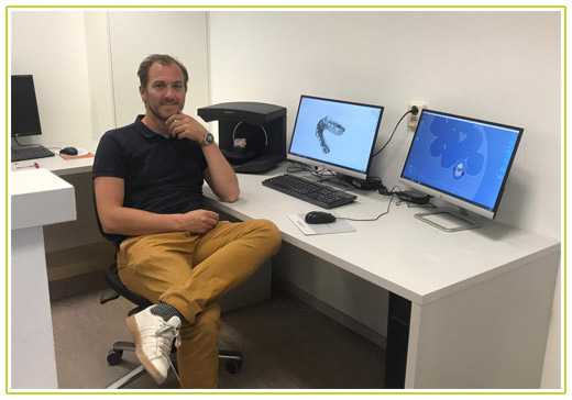 Tandtechnicus Maarten van Harten [3D Dental Lab]
